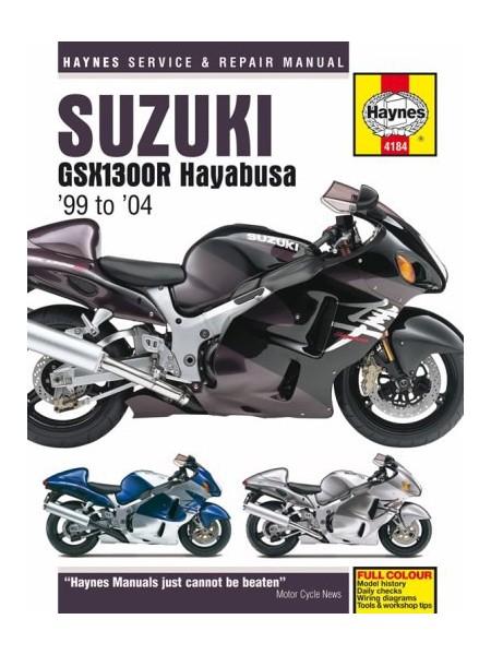 SUZUKI GSX 1300R HAYABUSA 1999-2004 - HAYNES SERVICE & REPAIR MANUAL
