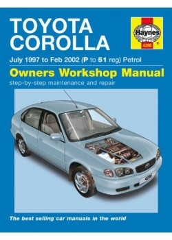 TOYOTA COROLLA PETROL 1997-2001 - OWNERS WORKSHOP MANUAL