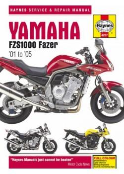 YAMAHA FZS1000 FAZER 2001-05 - SERVICE & REPAIR MANUAL
