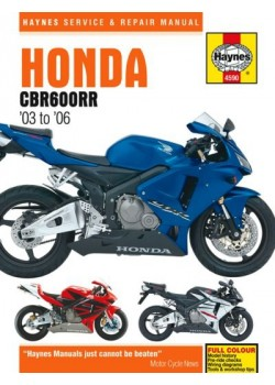 HONDA CBR 600 RR 2003-06 - OWNERS WORKSHOP MANUAL