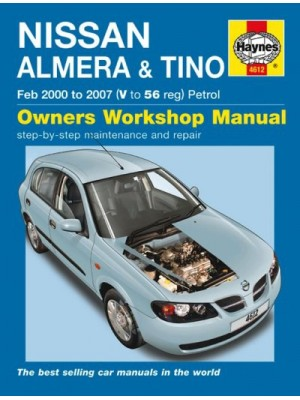 NISSAN ALMERA & TINO PETROL 2000-07 - OWNERS WORKSHOP MANUAL
