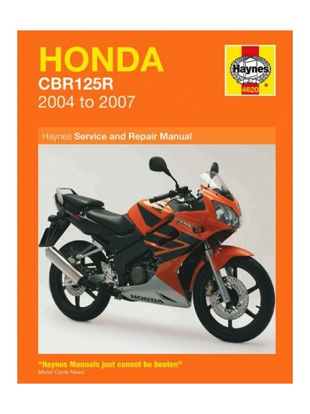 HONDA CBR125R 2004-07 - OWNERS WORKSHOP MANUAL