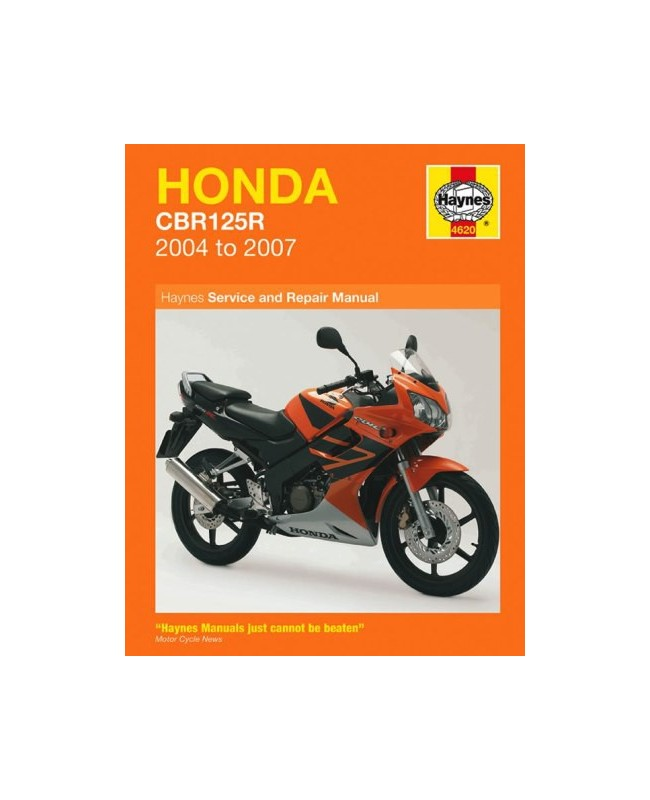 Honda Cbr125r 2004-07 - Owners Workshop Manual