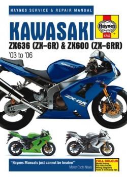 KAWASAKI ZX-6R 2003-06 - SERVICE & REPAIR MANUAL