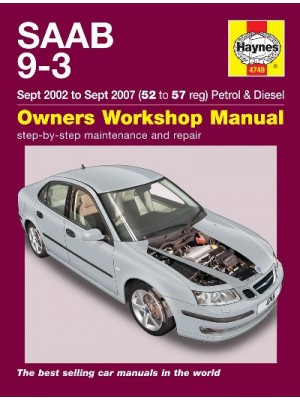 SAAB 9-3 PETROL & DIESEL 2002-06 - OWNERS WORKSHOP MANUAL