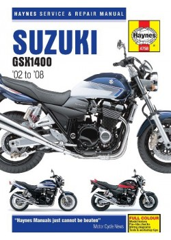 SUZUKI GSX1400 2002-08 - SERVICE & REPAIR MANUAL