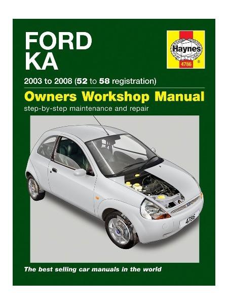 FORD KA 2003-08 - OWNERS WORKSHOP MANUAL