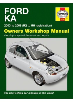 FORD KA 2003-08 - OWNERS WORKSHOP MANUAL