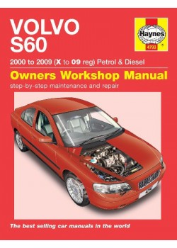 VOLVO S60 PETROL & DIESEL 2000-08 - OWNERS WORKSHOP MANUAL