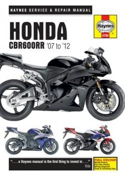 HONDA CBR600RR '07 TO '12