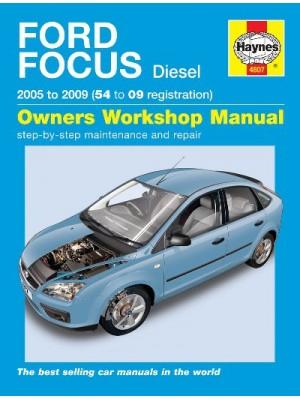 FORD FOCUS DIESEL 2005-09 - OWNERS WORKSHOP MANUAL