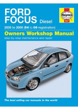 FORD FOCUS DIESEL 2005-09 - OWNERS WORKSHOP MANUAL
