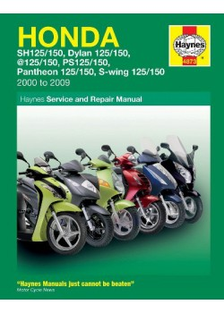 HONDA 125 SCOOTERS (SH, SES, NES, PES & FES 125) 2000-09 - REPAIR & .