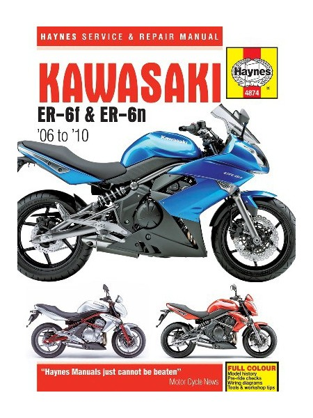 KAWASAKI ER-6 2005-09 - SERVICE & REPAIR MANUAL