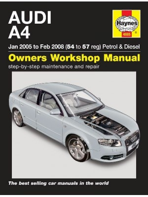 AUDI A4 PETROL & DIESEL 01/2005-02/2008 - OWNERS WORKSHOP MANUAL