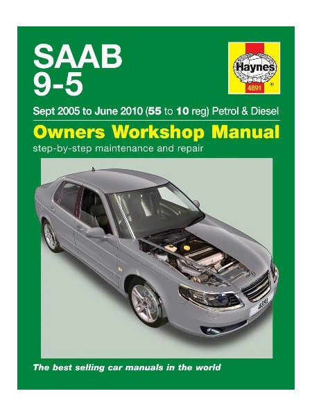 SAAB 9-5 PETROL & DIESEL 2005-10 - OWNERS WORKSHOP MANUAL