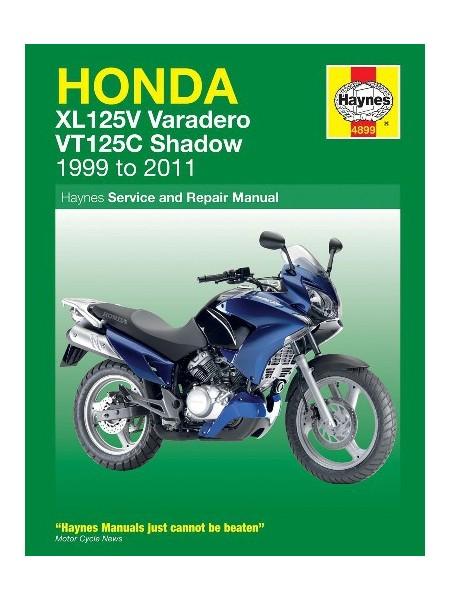 HONDA XL125V & VT125C 1999-11 - OWNERS WORKSHOP MANUAL