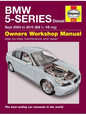 BMW 5 SERIES DIESEL (03-10) E60/61 - OWNERS WORKSHOP MANUAL
