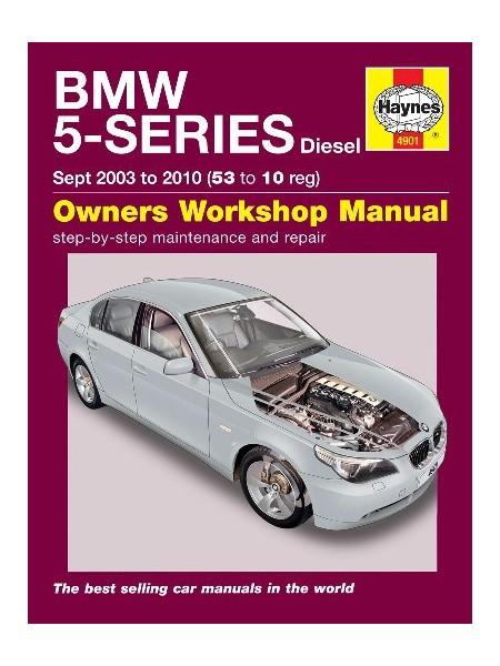 BMW 5 SERIES DIESEL (03-10) E60/61 - OWNERS WORKSHOP MANUAL