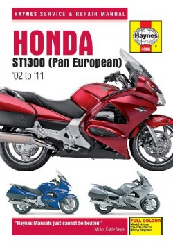 HONDA ST1300 PAN EUROPEAN 2002-10 - OWNERS WORKSHOP MANUAL