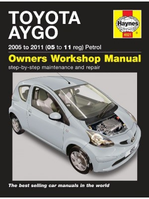TOYOTA AYGO PETROL 2005-2011 - OWNERS WORKSHOP MANUAL