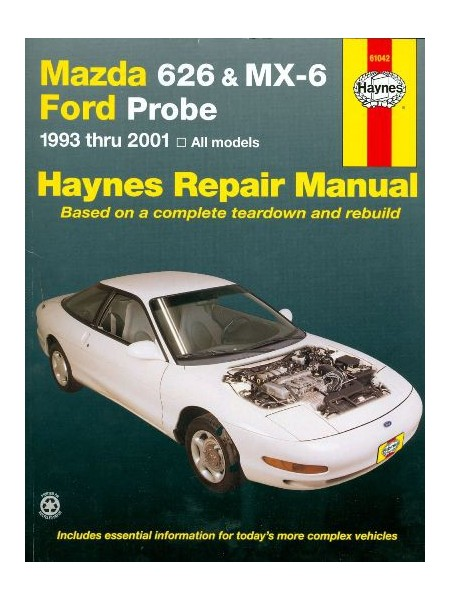 MAZDA 626 & MX-6 - FORD PROBE 93-2001 HAYNES REPAIR MANUAL