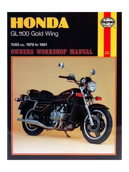 HONDA GL 1100 GOLD WING 1979-81 - OWNERS WORKSHOP MANUAL