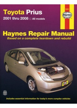 TOYOTA PRIUS 2001-08 - HAYNES REPAIR MANUAL