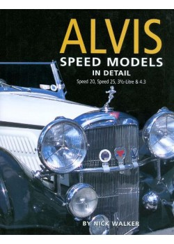 ALVIS SPEED MODELS IN DETAIL , SPEED 20 & 25, 3.5 & 4,3 L
