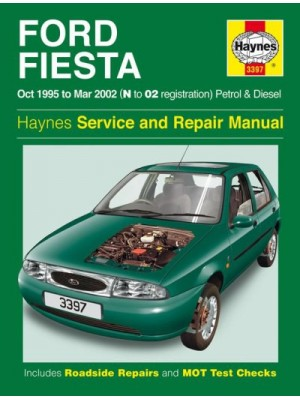 FORD FIESTA PETROL & DIESEL 1995-02 - OWNERS WORKSHOP MANUAL