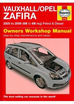 OPEL / VAUXHALL ZAFIRA B PETROL & DIESEL 2005-09 - OWNERS WORSHOP ..