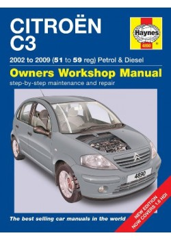 CITROEN C3 2002-2009 PETROL & DIESEL - OWNERS WORKSHOP MANUAL