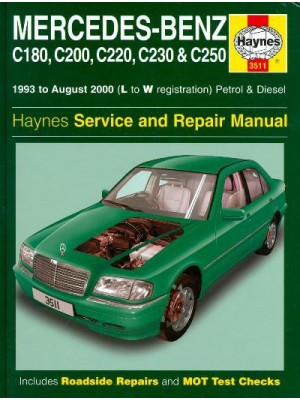 MERCEDES C CLASS PETROL & DIESEL 93-2000 HAYNES SERVICE AND REPAIR ..
