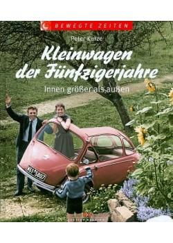 KLEINWAGEN DER FUNFZIGERJAHRE - INNEN GROSSER ALS AUSSERN